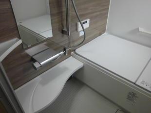 在来浴室をユニットバスに取替えて暖かく快適な空間に変身