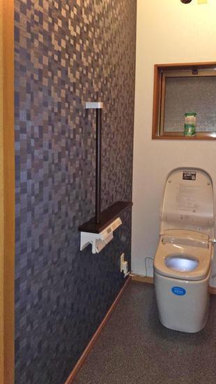 トイレ空間の雰囲気が変わりました