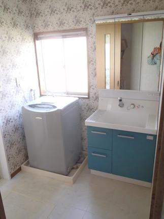 洗面空間リニューアル