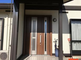 1dayリフォーム リシェント玄関ドア