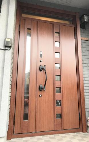 断熱性が優れた玄関ドアへのリフォーム