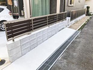 オシャレな外観も安全面も確保できるフェンスの設置工事