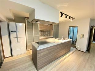 家族のスペースが広がるキッチンに!