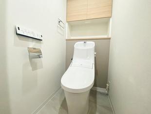 汚れがつきにくいトイレ