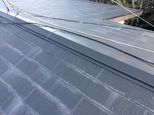 屋根の補修をしました。