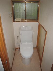 入間市 トイレ交換工事