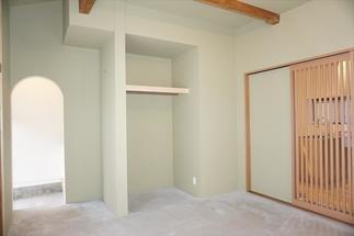 1階和室の床をコンクリート打設に変更