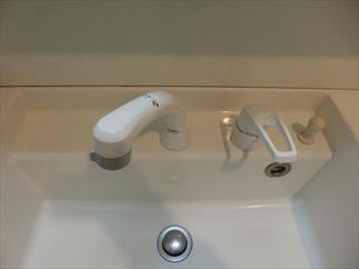 After 洗面台の水栓交換