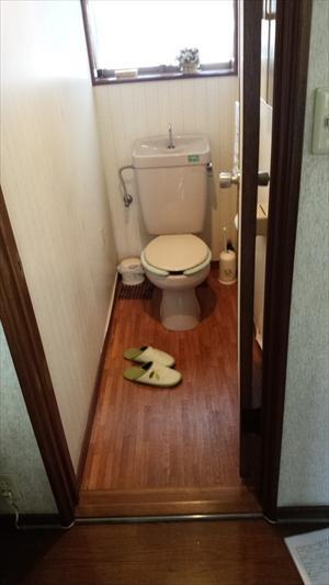 Before トイレ
