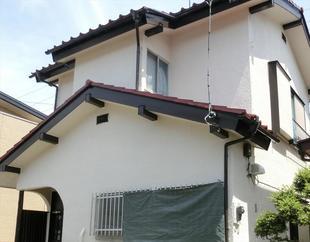 入間市東町I様邸 屋根外壁塗装工事