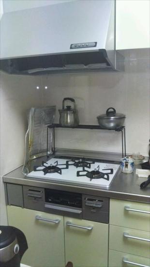明るいキッチンに変身!