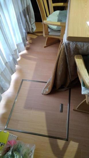 入間市 床下収納庫設置
