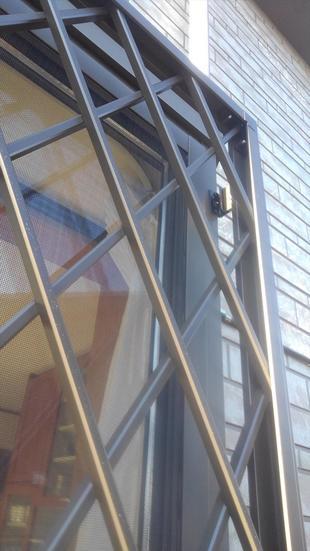 入間市M様邸 既存窓に面格子設置リフォーム