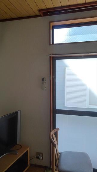 リフォーム前 掃き出し窓