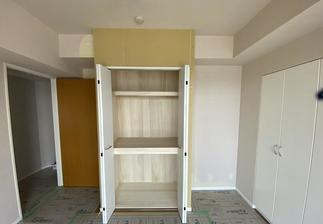 リフォーム後(収納を造作) 寝室にする洋室