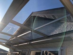 ベランダ・バルコニーリフォーム/急な雨の心配もなくなるテラス屋根新設