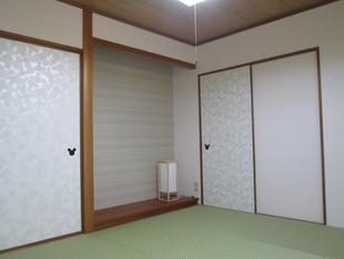 和室をさわやかに~太田市