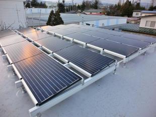 防水工事をして太陽光発電を!