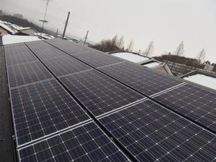 電気自動車の充電に太陽光発電の電気を!
