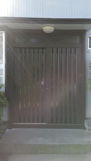 K様邸玄関引戸交換工事