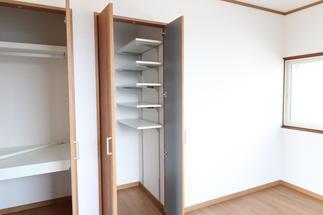 可動式の収納スペース