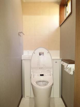 空間すっきりトイレ