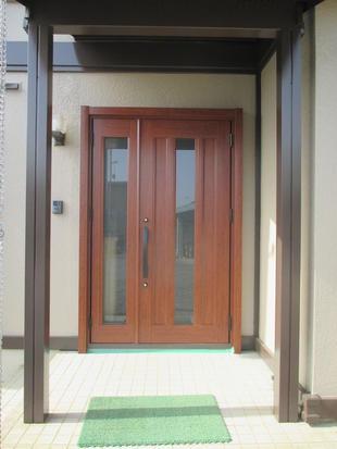 玄関ドア交換