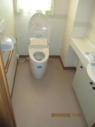トイレ交換