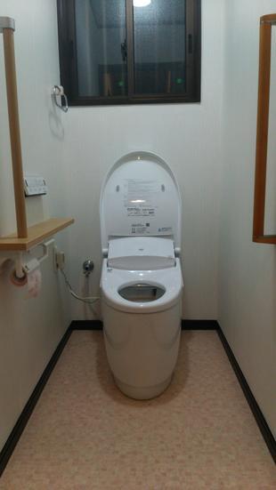 トイレに手すりを設置