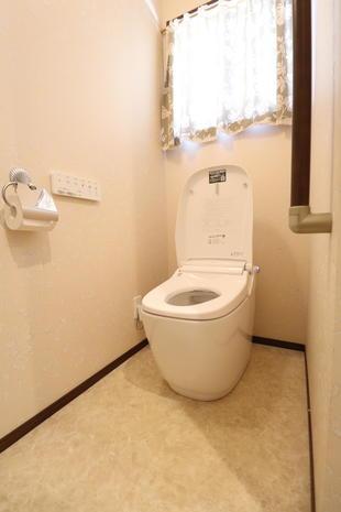 【つくば市】タンクレストイレ「サティスG」への交換