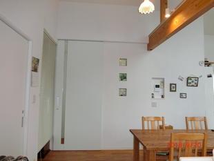 藤沢市K様邸 階段吹抜けに間仕切り造作しました。(杉山)