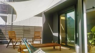 茅ヶ崎市 M様邸 デッキにシェードをつけてみました。(砂賀)