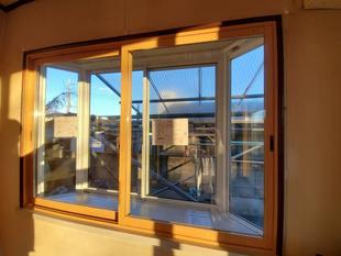 窓はインプラス、勝手口ドアも交換で断熱効果アップ!(みどり市)