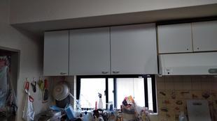 キッチン吊戸棚交換工事