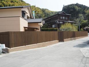 フェンス工事(福岡県八女市・リフォーム)