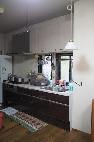 キッチン移設&レンジフード取替工事(久留米市御井町・リフォーム)