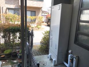 I様邸 電気温水器取替工事