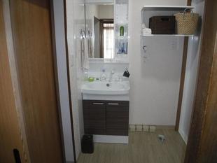 洗面所が広々大変身!M様邸 トイレ内装・浴室・洗面所リフォーム工事