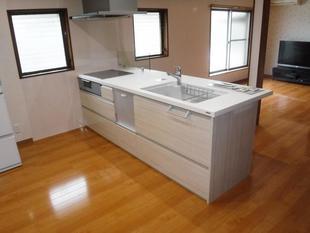 シンプルかつ機能性抜群キッチンが素敵!N様邸LDKリフォーム工事