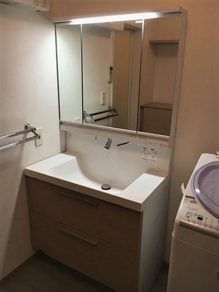 洗面室改修工事