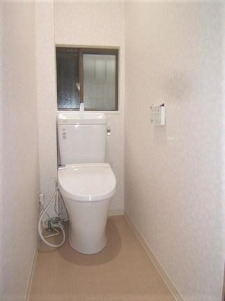 2階にもトイレを。