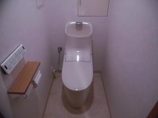 【トイレ】プレアスHSに変えて掃除も楽に!(西東京市)
