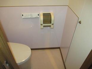 【トイレ】シンプルなトイレでお掃除も楽に!(西東京市)