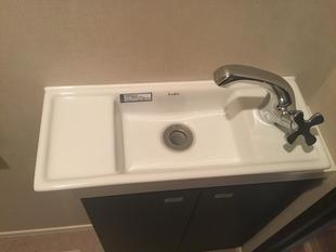 墨田区のトイレ手洗器水栓交換