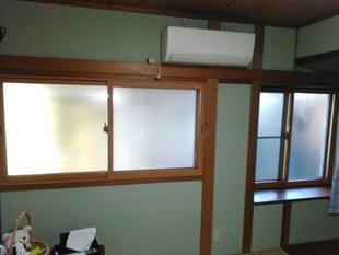 和室の窓にインプラス(内窓)