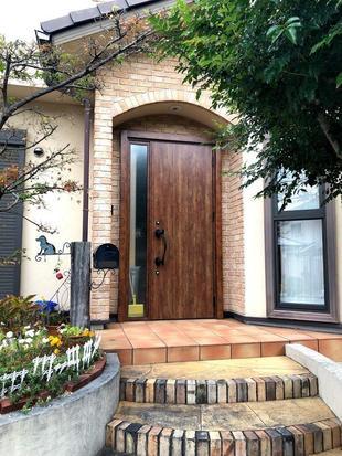 【玄関ドア】老朽化による取替え