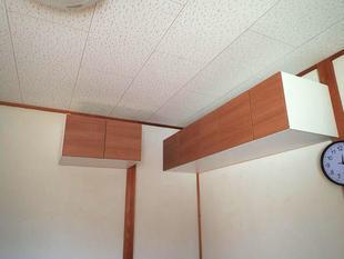 収納棚 設置工事