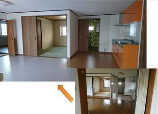 カラフルな色遣いがお洒落で、家族が楽しめる住宅へリノベーション!!