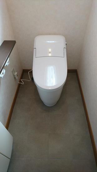 LIXIL プレアスへトイレ交換