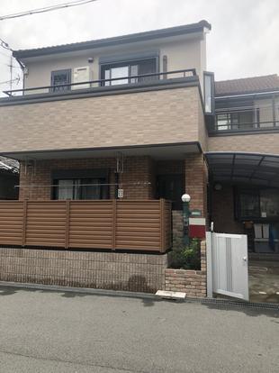 豊中市 ケイミューサイディング&外壁塗装リフォーム!